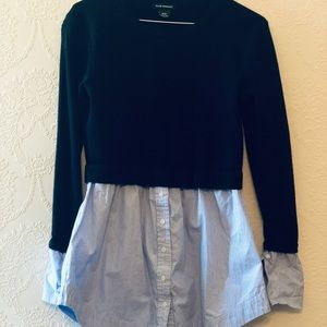 Club Monaco - sweater dress shirt - S